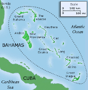 The Bahamas Geography