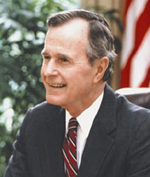 an overview of the presidencies of george herbert bush and george w bush